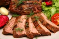 Постное вареное мясо